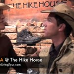 Hiking Shoes donation to the Juicy Living Tour!!!!