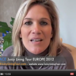 Want to be part of Lilou's Juicy Living Tour EUROPE? Starting April 2012