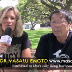 Water's memory & messages – Dr Masaru Emoto, Honolulu